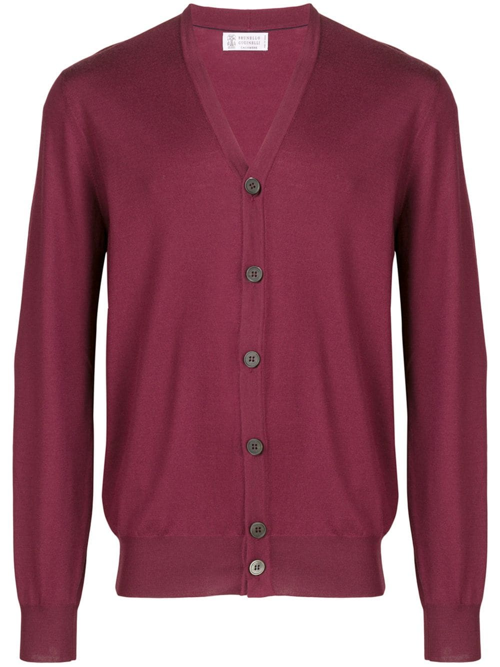 a0af937b00 Brunello Cucinelli slim cardigan - Red in 2019   Products   Brunello ...