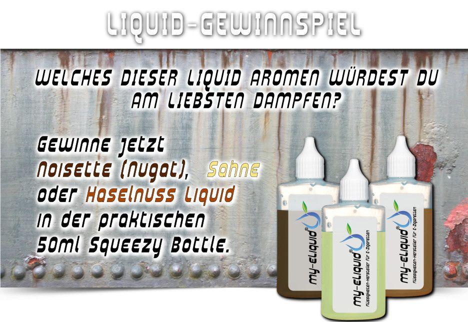 ⚡ My-eLiquid ⚡   Liquid  ✰ #Facebook   #Gewinnspiel   ✰  Schnapp Dir jetzt 50 ml Liquid mit einem der 3 leckeren Aromen (Liquid Süßkirsche, Liquid Mango, Liquid Lemon) in in der praktischen Squeezy Bottle ✰  ► So kannst Du mitmachen:      https://www.face