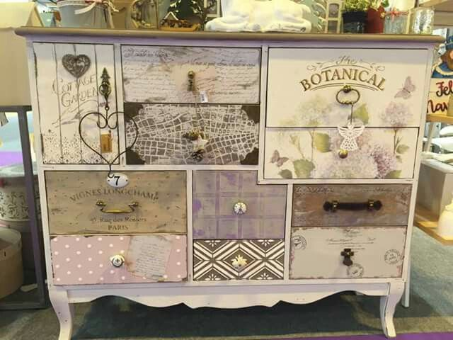 Decoupage Decoupage Furniture Shabby Furniture Furniture Makeover