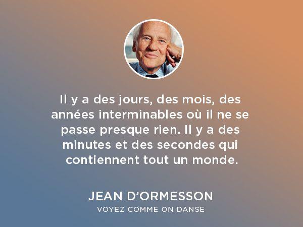 Citation Jean Dormesson Lumiere