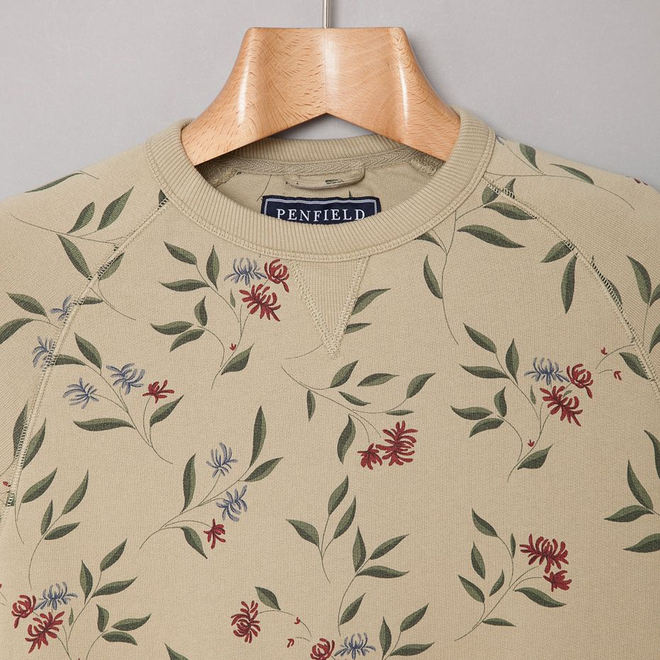 Penfield / Parma Crew (Floral Print)