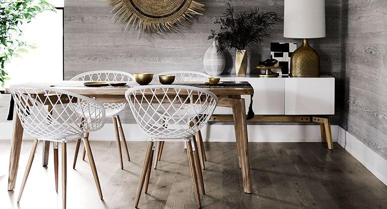 Mid century dining room finmark cb2