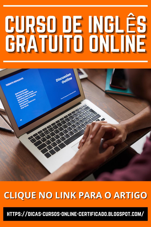 Curso De Ingles Gratuito Online Melhores Sites Para Aprender Ingles Gratuito Com Certificado Em 2021 Curso De Ingles Ingles Gratuito Curso De Ingles Gratis