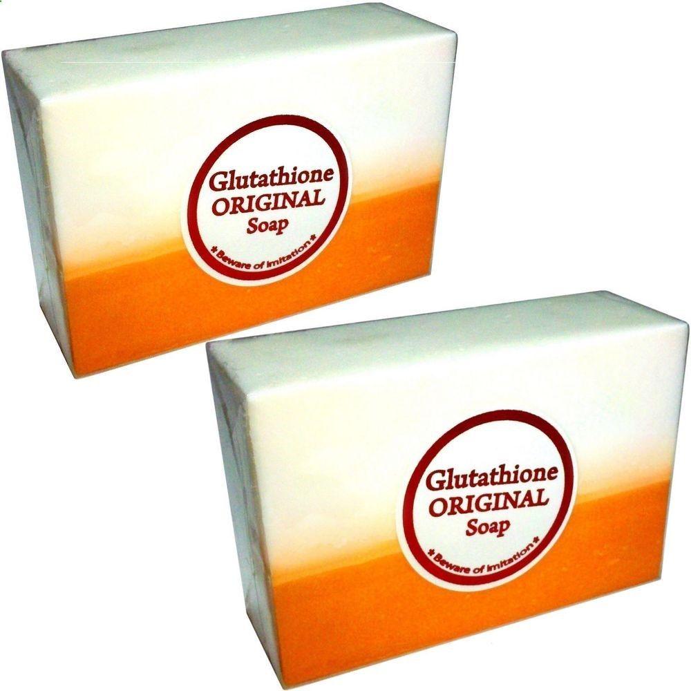 X glutathione kojic acid in soap bars skin whitening bleaching