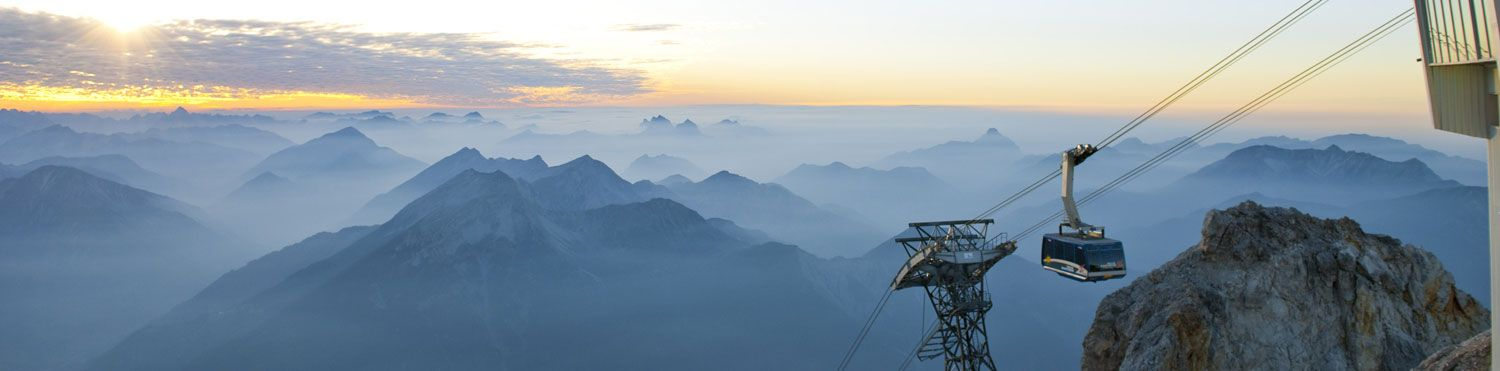 sunrise from the Zugspitze
