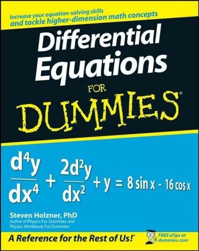 18 Best Differential Equations Images Baby Books Equation Learning