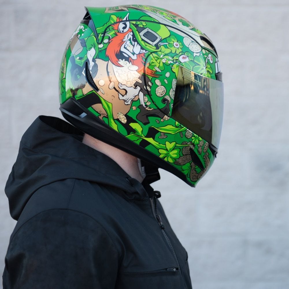 Double Stack *SHIPS SAME DAY* ICON Variant Motorcycle Helmet
