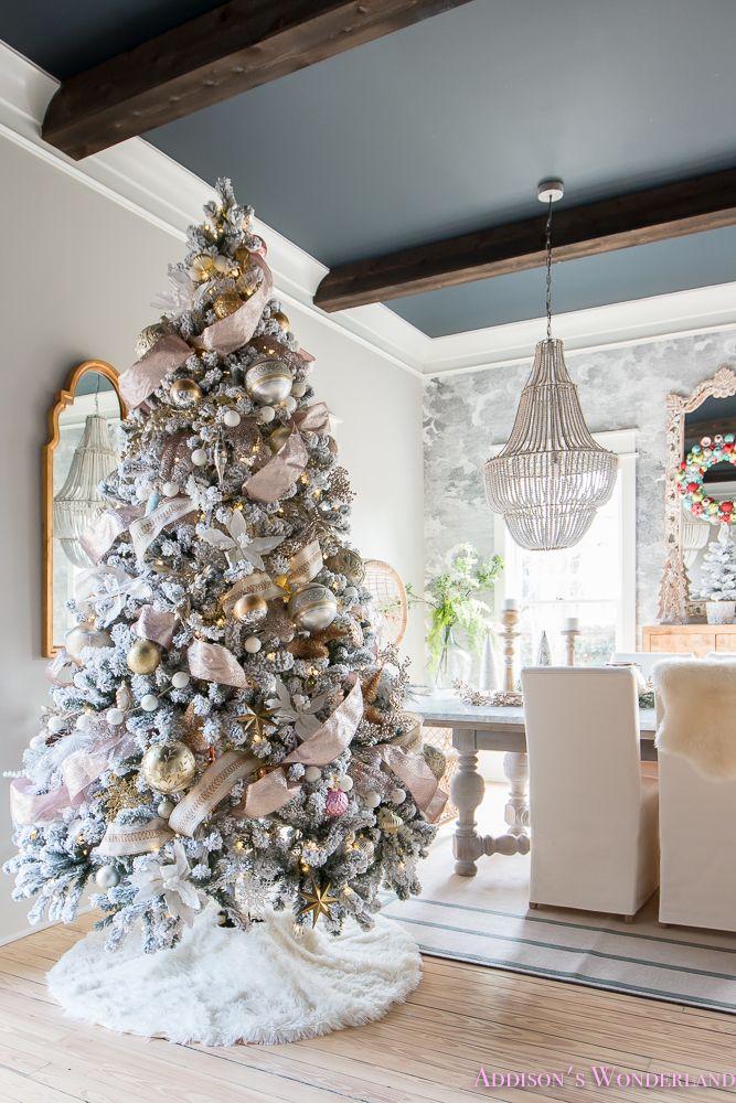 Our Colorful Christmas Holiday Living Room Home Tour