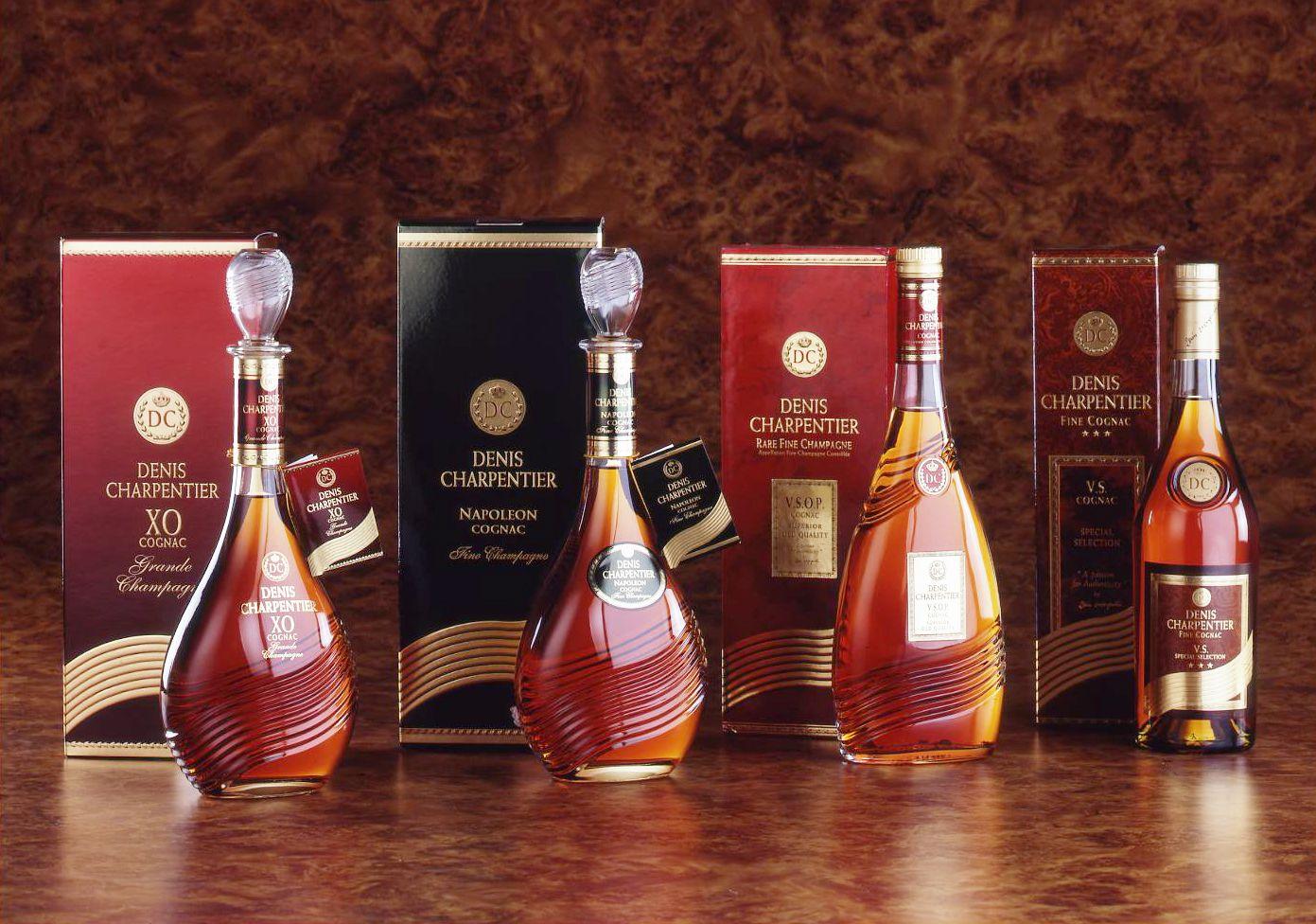 Denis Charentier Gamme Cognac Memento Linea Wine Bottle Liquor Bottles Bottle Packaging