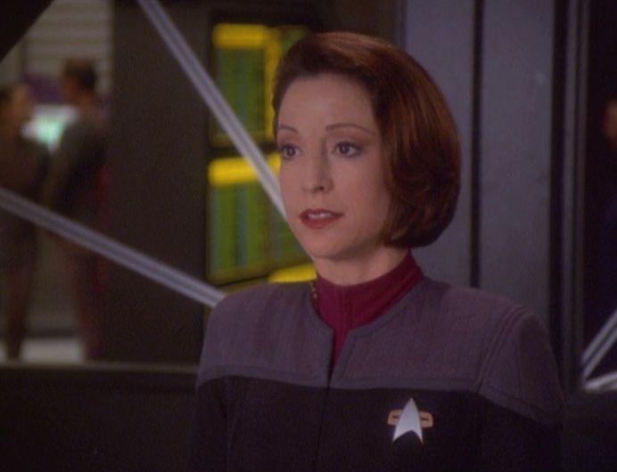 Resultado de imagem para deep space nine kira starfleet uniform