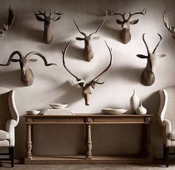 Wooden Animal Wall Mounts Animal Wall Mount Hand Carved Wood