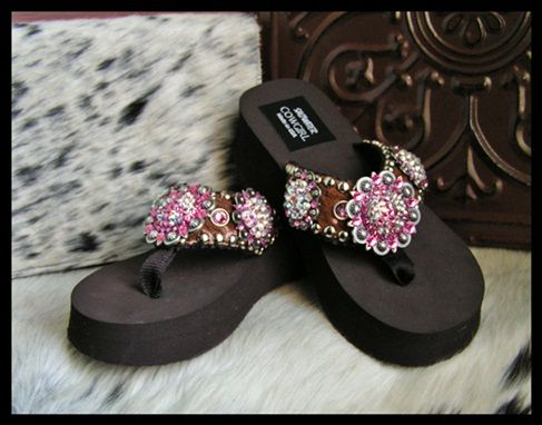 c56b3177f594 Cowgirl Jewelry and Custom Flip Flops