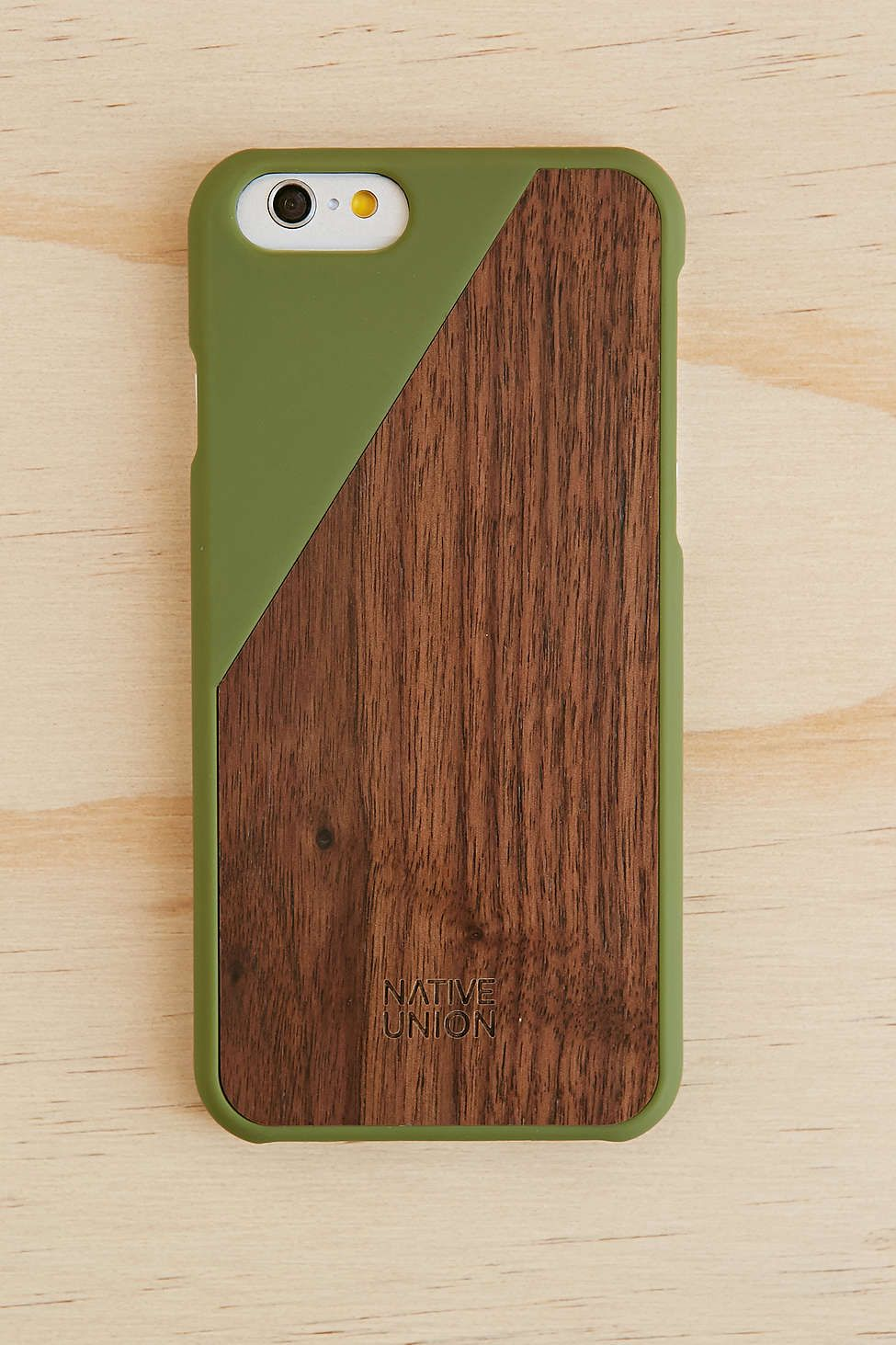 Native Union Clic Wooden Iphone 6 Case Urban Outers