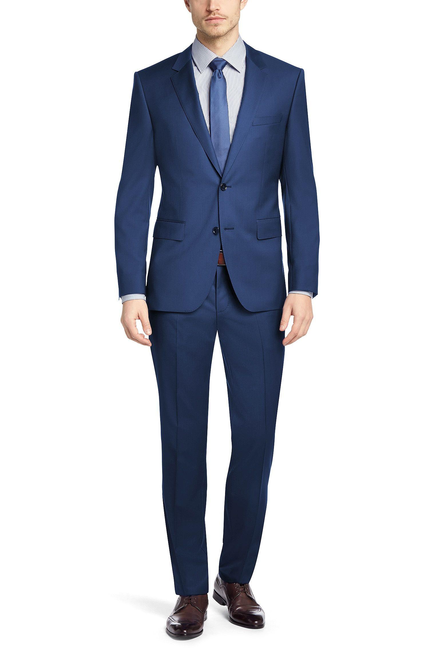 Clothing, Shoes & Accessories Men's Clothing Ingenious Veste Homme Hugo Boss En Laine Vierge