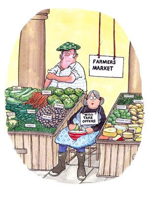 Cartoon Farmers Market : cartoon, farmers, market, Farmers, Market