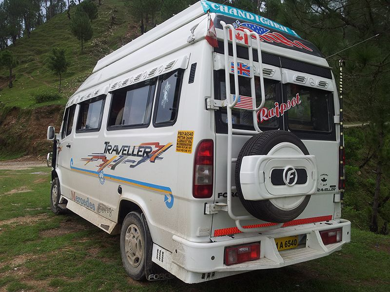 Enjoy Tempo Traveller Service of Saini Tour & Travels.