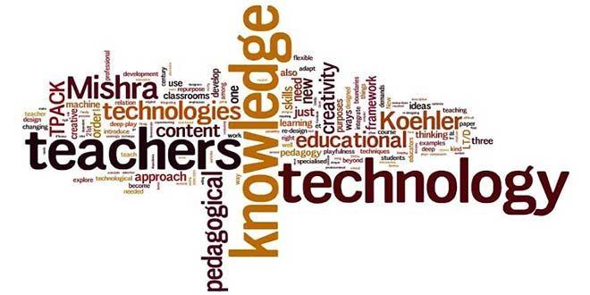 إطار المحتوى المعرفي التكنولوجي البيداغوجي Tpack Framework Teaching School Work Knowledge