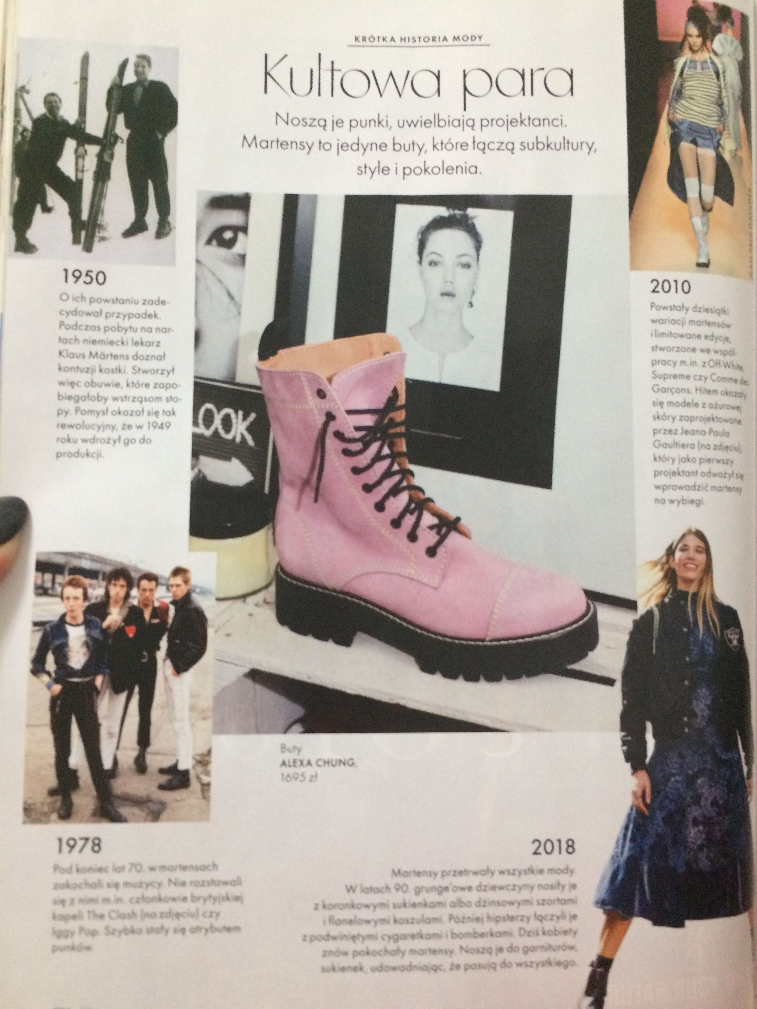 Pin By Valery S Daily Inspiration Blo On Fashion History Combat Boots Boots Fashion History