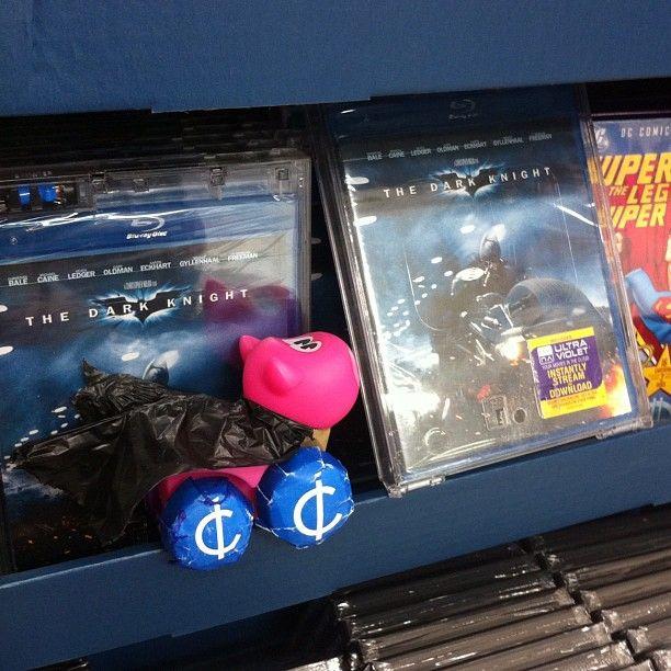 Batman in hi def! #batpiggy http://icir.co/NhPn7L