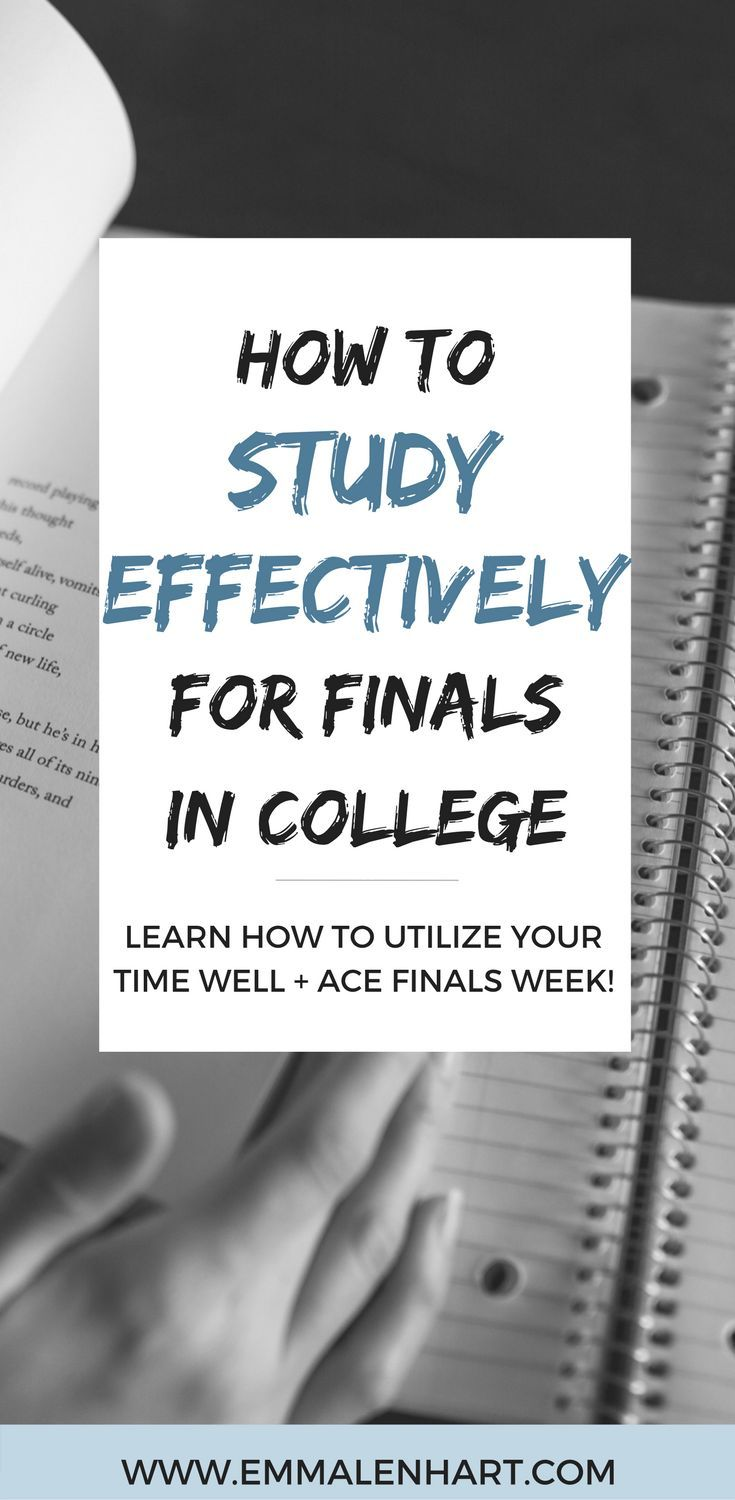 Learn how to study for finals in college effectively. The tips in this post will help you to perform well on college tests with new ideas for studying. Get a plan of how you should study for your final exams to get a good grade!