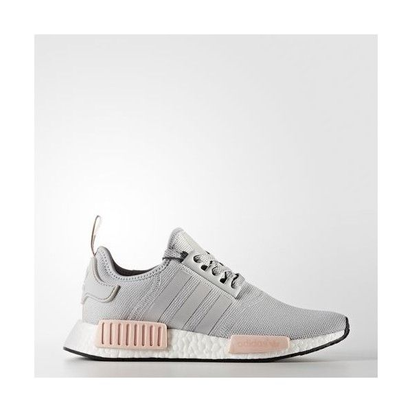 differently b0496 451af adidas NMDR1 Shoes - Grey  adidas US (35.755 HUF) ❤ liked on Polyvore  featuring shoes, grey shoes, gray shoes, adidas shoes, adidas footwear and  adidas