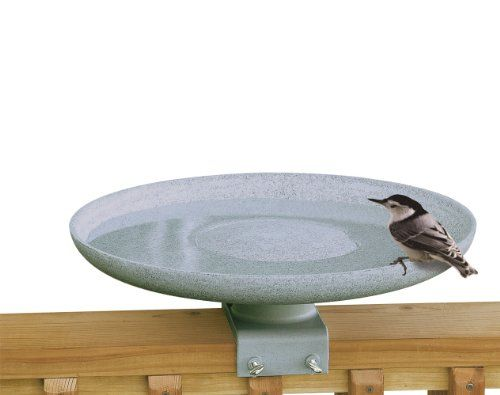 """$85.99-$85.99 Now backyard bird enthusiasts can enjoy their favorite pastime year-round, with the new KozyBird Spa - the heated birdbath that offers lifesaving water to birds, even in winter's harshest conditions. KozyBird Spa is the """"Five Star"""" resort your birds will flock to!  The new KozyBird Spa Heated Birdbath is where birds want to be when the weather dips below freezing. And it makes for c ..."""