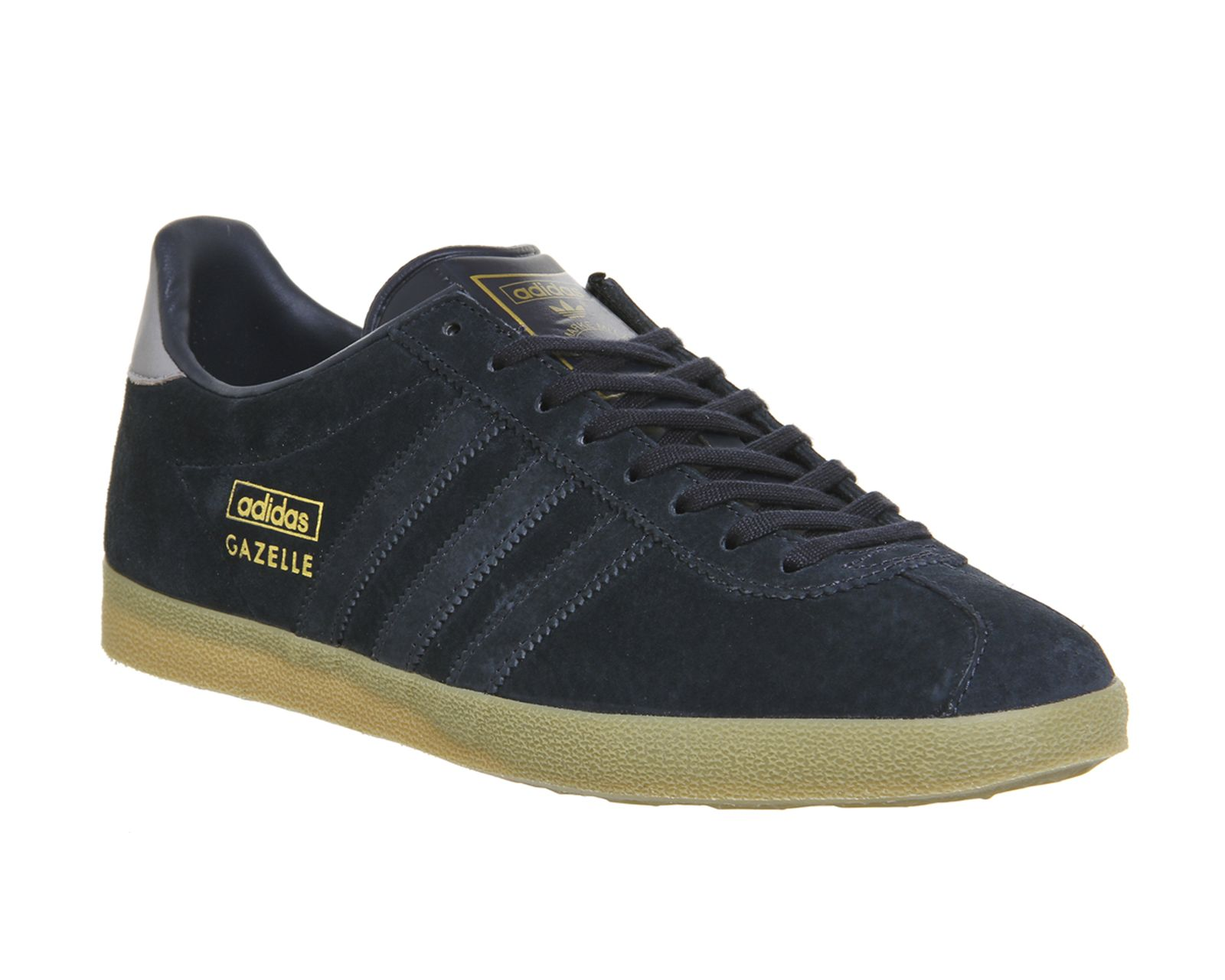 Buy Night Navy Light Granite Exclusive Adidas Gazelle Og from OFFICE.co.uk.