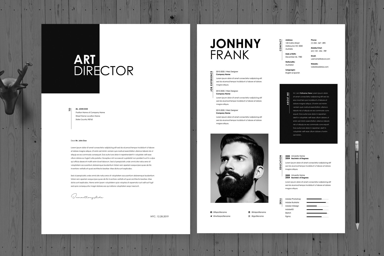 Creative Resume Cv Template 38 Resume Design Creative Creative Resume Creative Director Cv