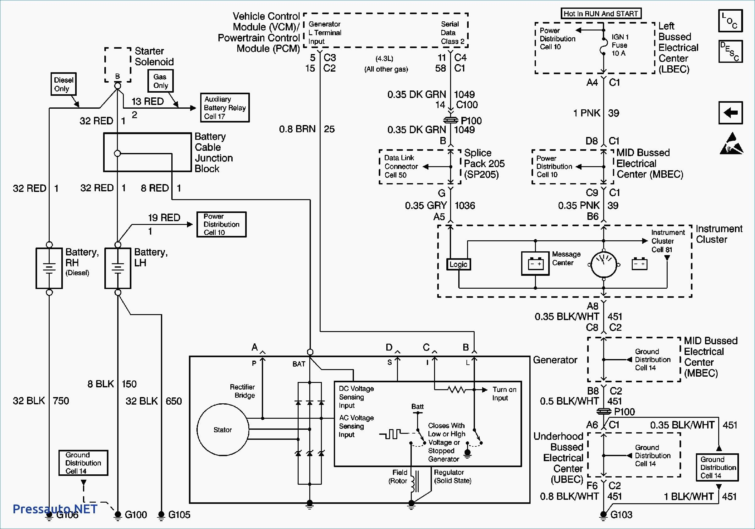 2005 Silverado Trailer Wiring Diagram New Di 2020