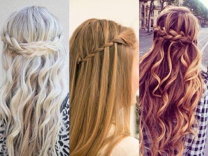 peinados sencillos con trenzas - Peinados Sencillos