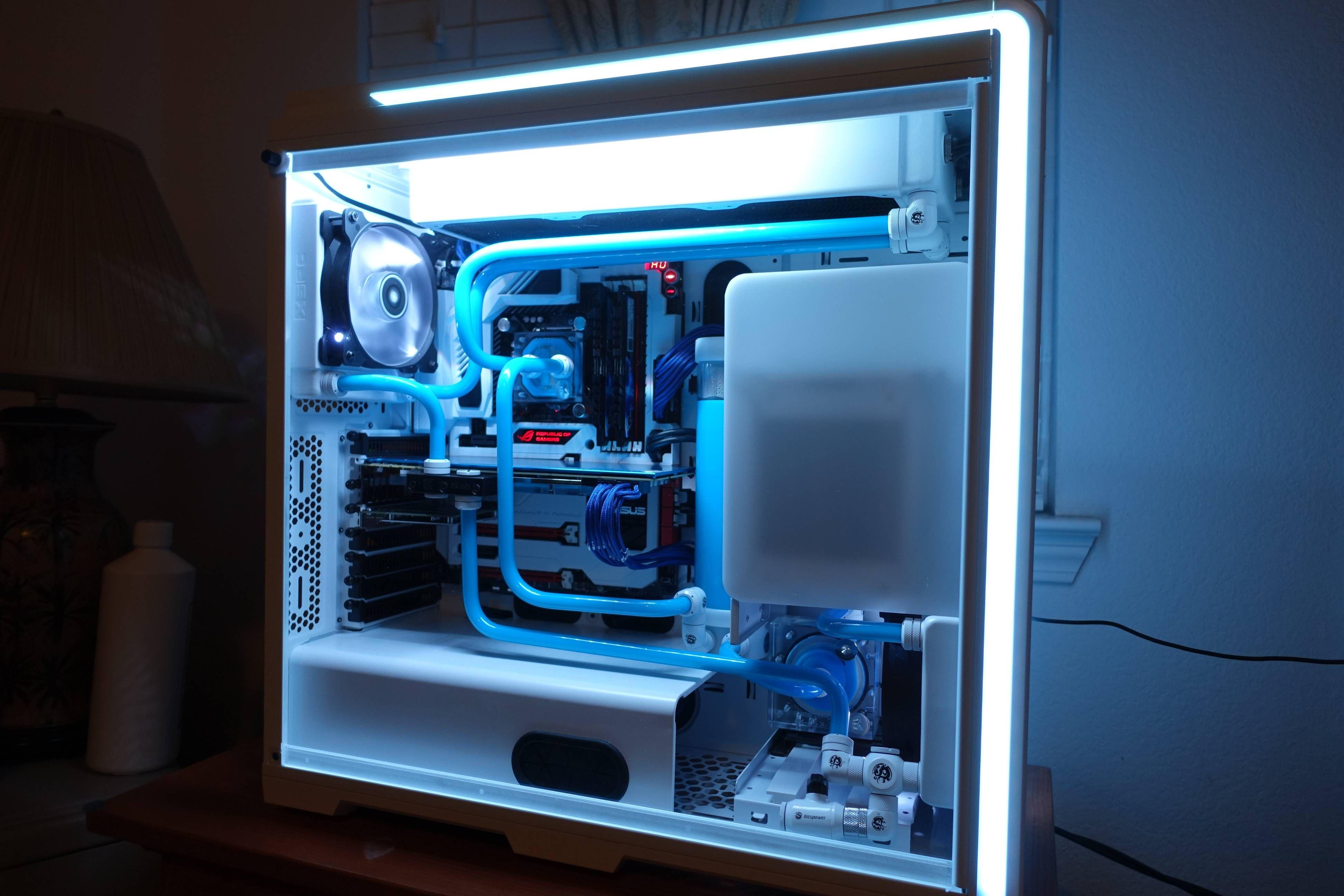 First Time Water Cooling Build Aanga Custom Computer Custom