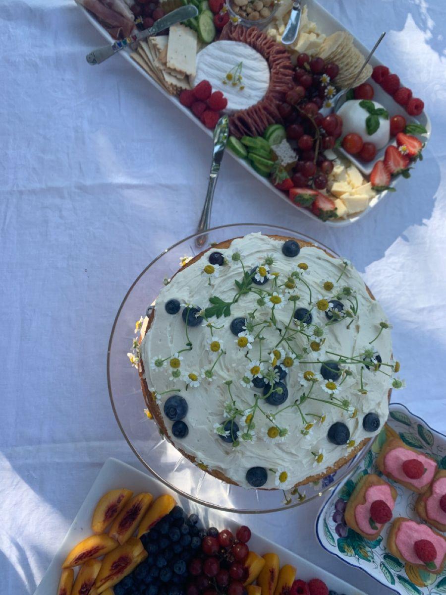 #flowercake #gardenparty
