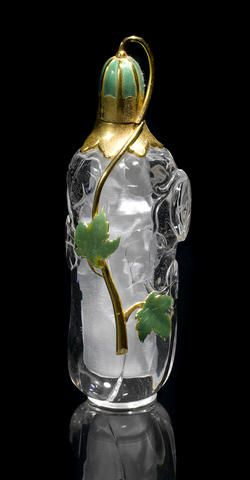 rock crystal perfume bottle~