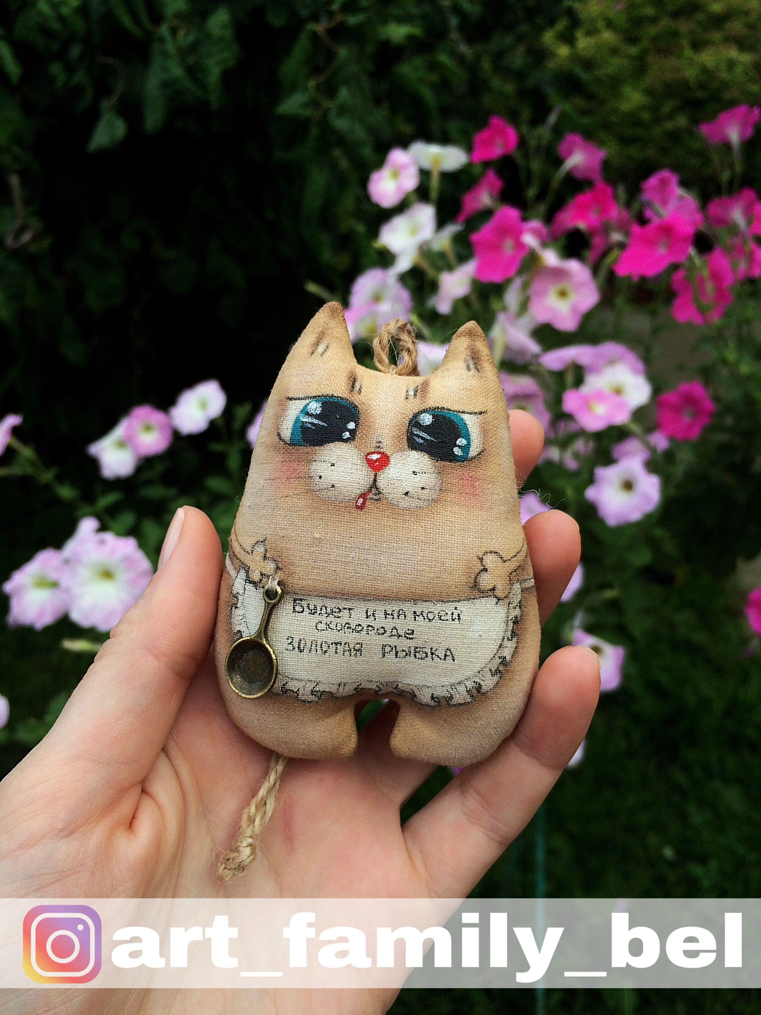 Подарок своими руками коту