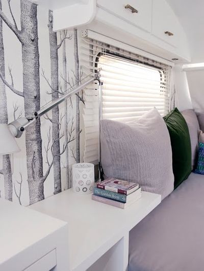 Always loved this birch paper...would never have thought to put it in my RV... but now that idea's been planted...
