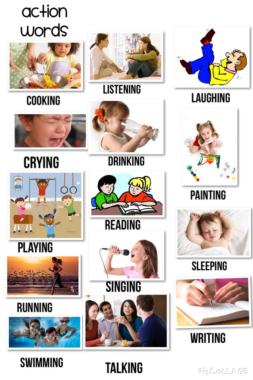 Ing Verbs Action Words Illustrate Action Words Verbs For Kids Action Words Teaching Verbs [ 1334 x 888 Pixel ]