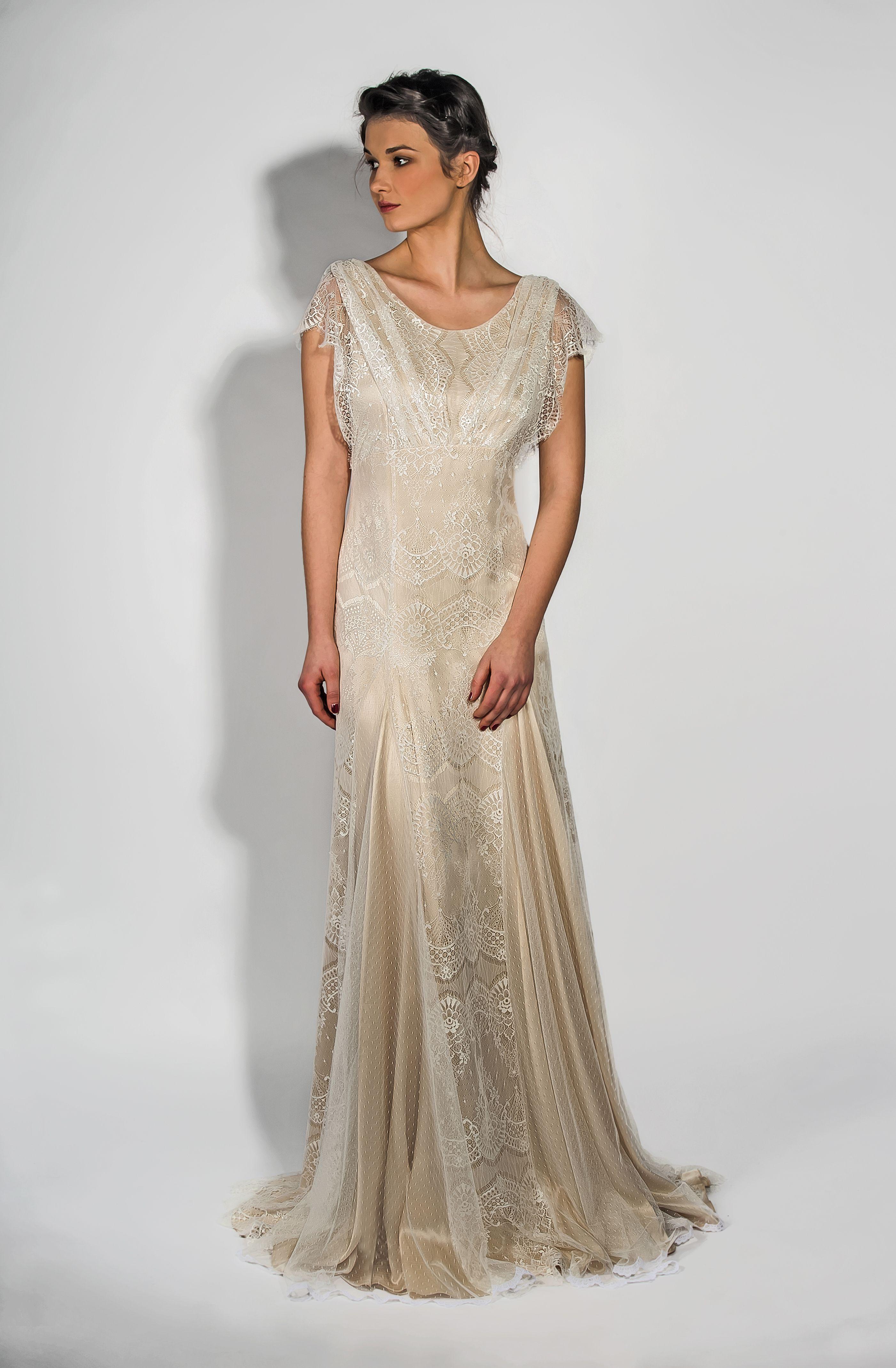 Ss belle u bunty vintage inspired modern wedding dresses the