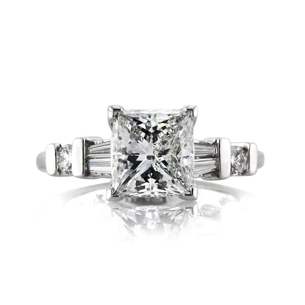 Ct princess cut diamond engagement ring true love pinterest