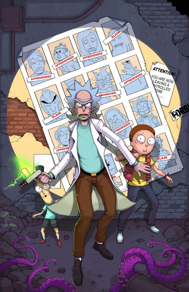 Rick and Morty by Teratophile awesome Days of Future Past inspired image