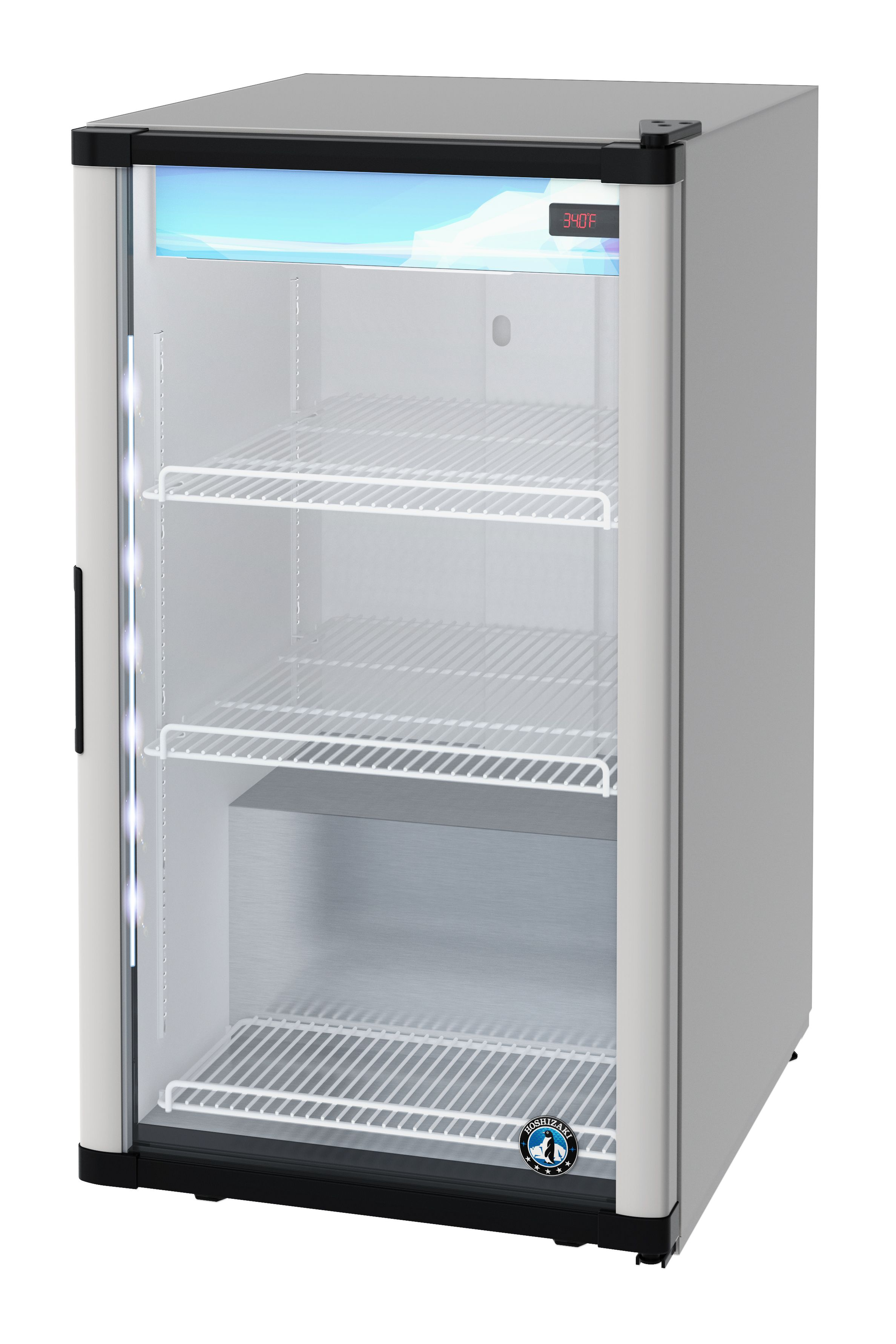 Rm 7 Hc Countertop Refrigerator Single Section Glass Door