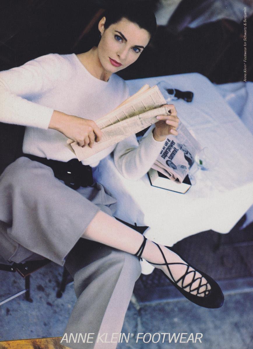Anne Klein in Vogue US, August 1988