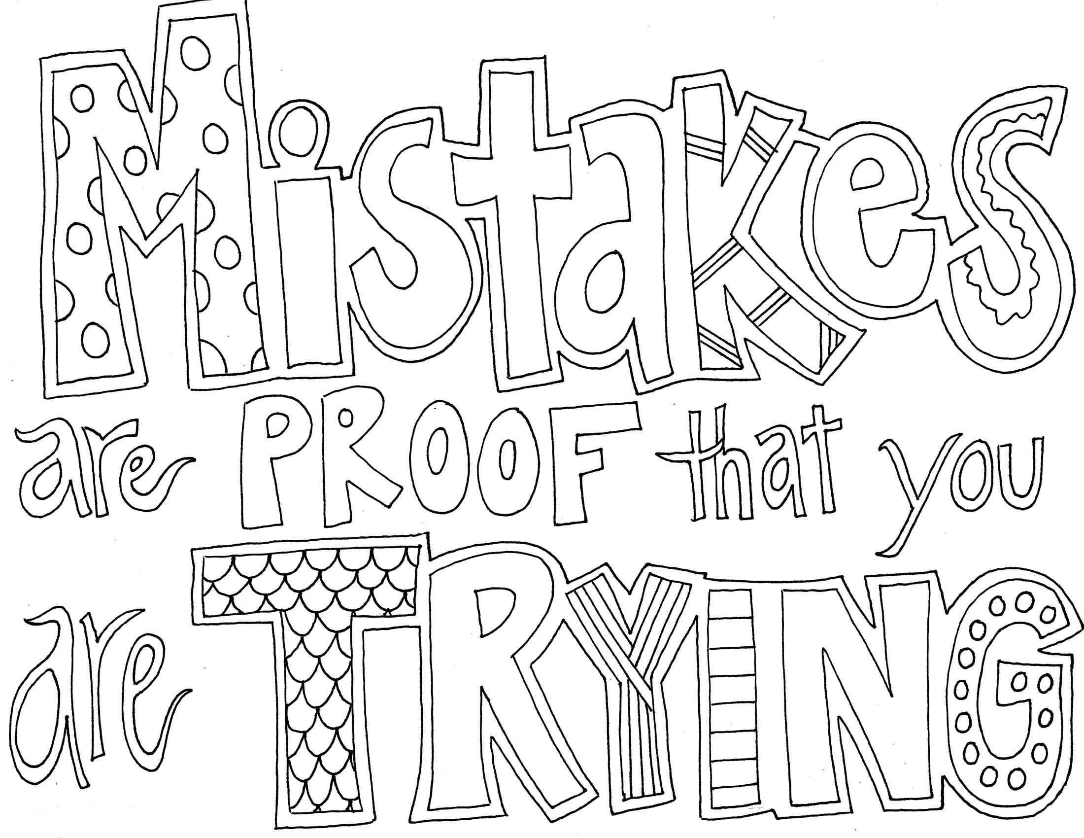 Quote And Sayings Coloring Pages Quote Coloring Pages All Quotes Colouring Pages