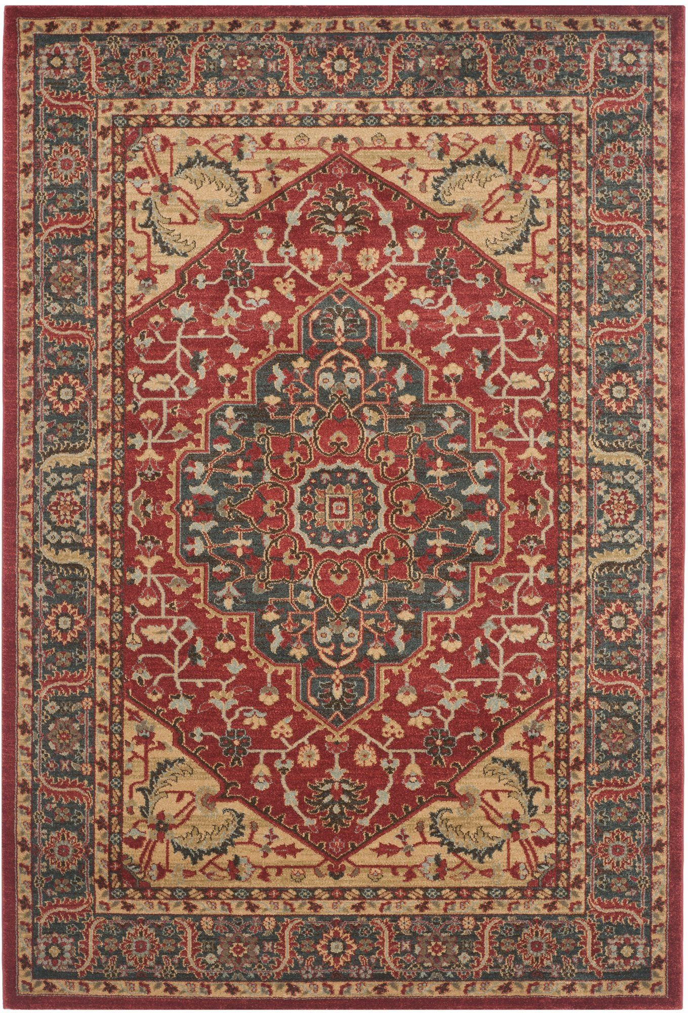 Denton Navy/Red Area Rug | Products | Pinterest | Products