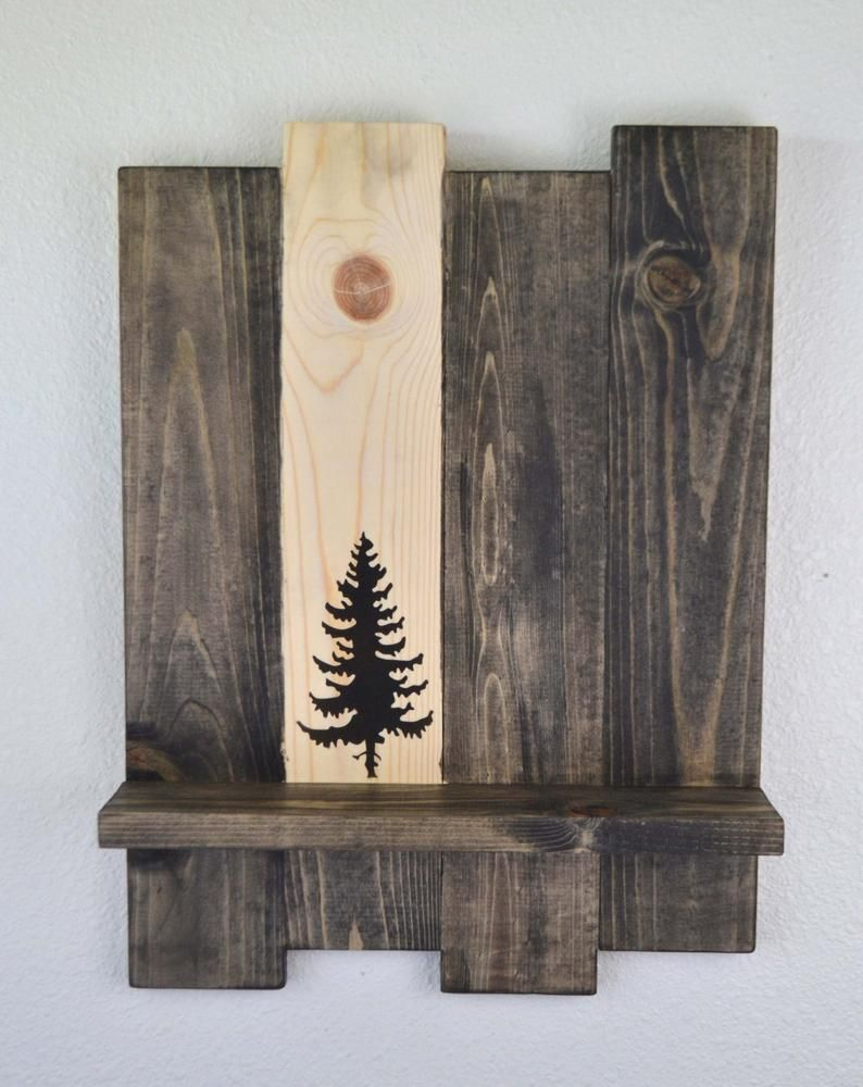 tree shelf decorative shelf unique shelf rustic shelf on inventive ideas to utilize reclaimed wood pallet projects all you must to know id=93132