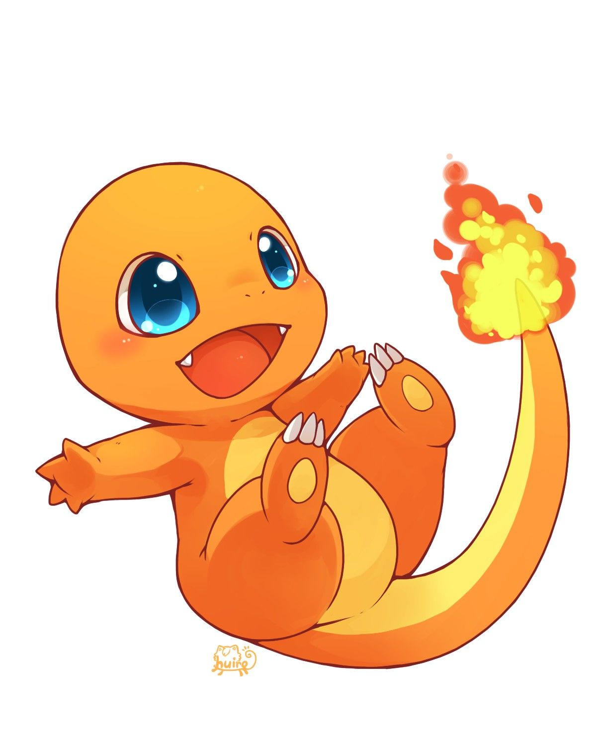 Charmander  stained glass  Pinterest