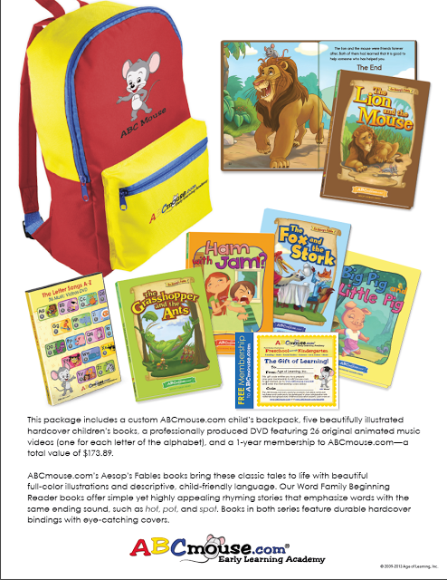 ABCmouse com would also like to give one lucky reader a