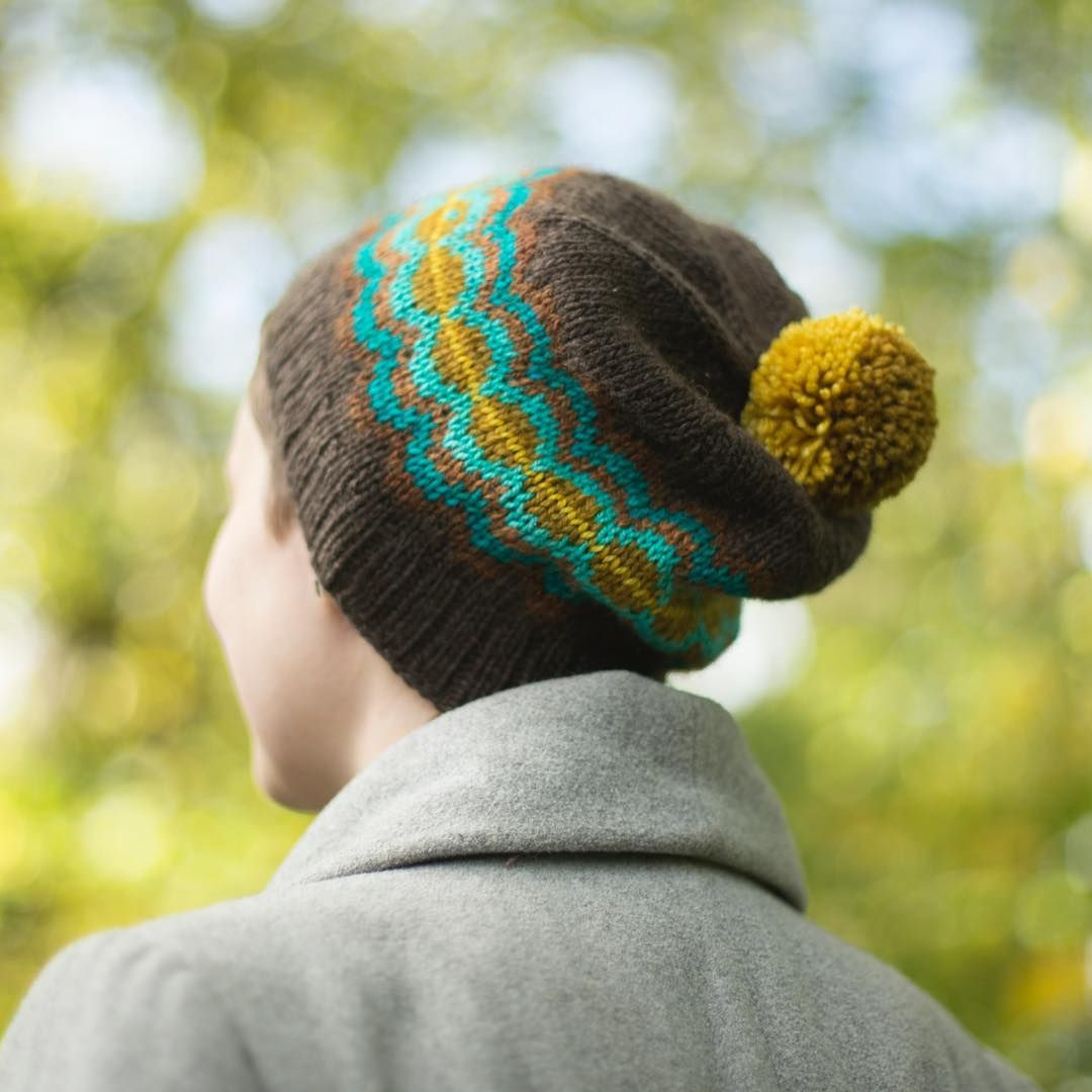 Tin can knits strange brew hat | Knitting, Fair isle ...