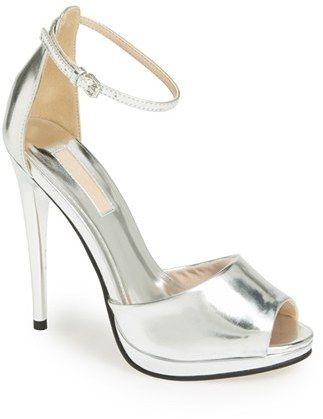 Topshop 'Ria' Ankle Strap Sandal (Women) on shopstyle.com