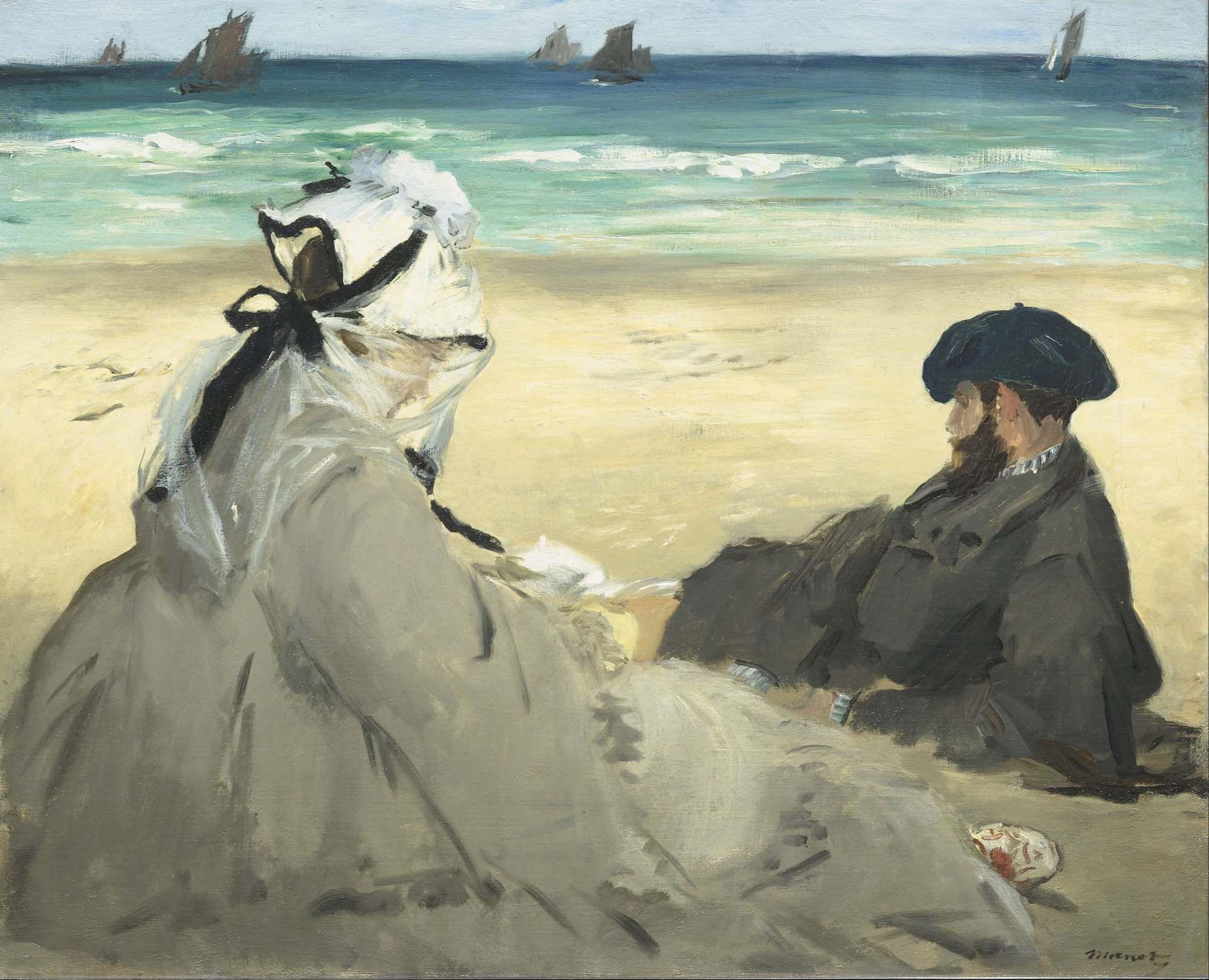 Картинки по запросу эдуард мане на пляже