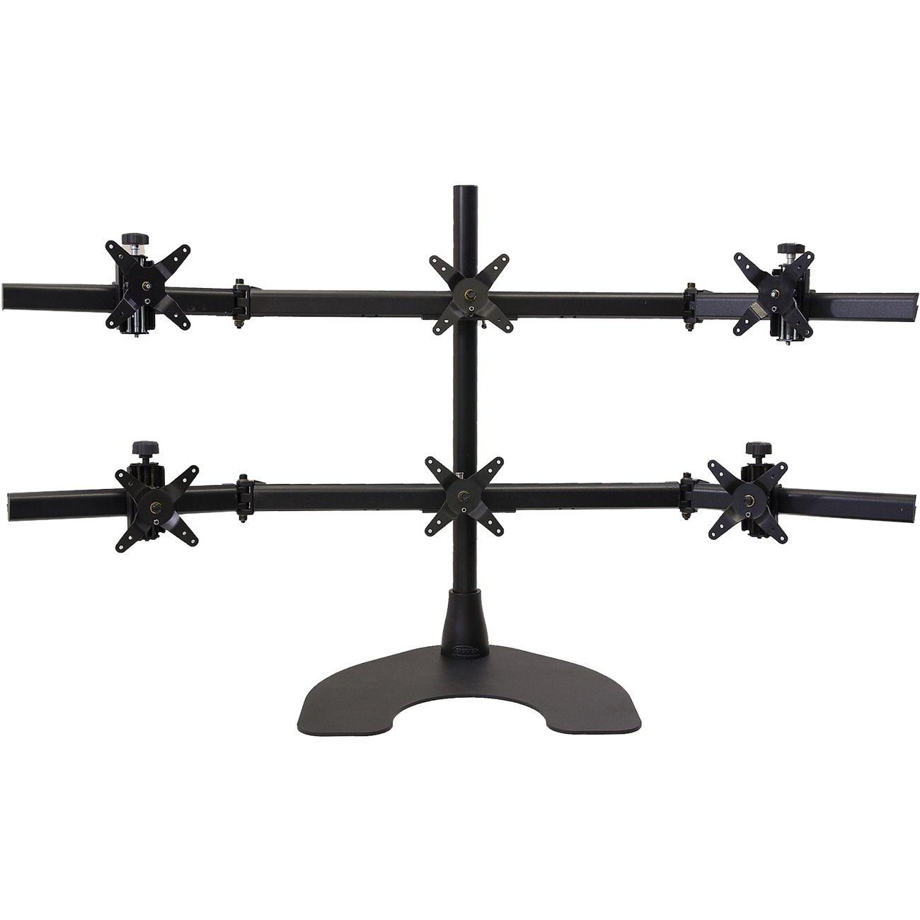 Ergotron Ergotech Hex LCD Monitor Desk Stand, #100-D28-B33